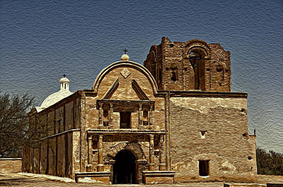 Photograph - Mission San Jose by Maria Coulson