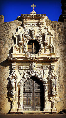 Stone Carving Photograph - Mission San Jose No 1 by Stephen Stookey