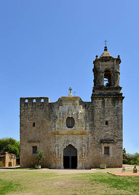 Historic Site Photograph - Mission San Jose Sa by Christine Till