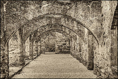 Photograph - Mission San Jose Storage Room by Roger Passman