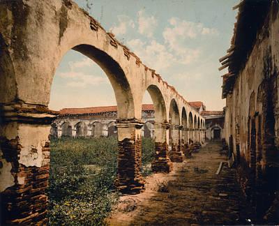 San Juan Painting - Mission San Juan, C1899 by Granger