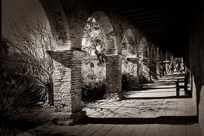 Photograph - Mission San Juan Capistrano by Jan Cipolla