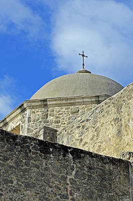 Photograph - Mission San Jose Dome by Shanna Hyatt