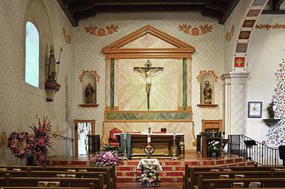 Luis Photograph - Mission San Luis Obispo Church by RicardMN Photography