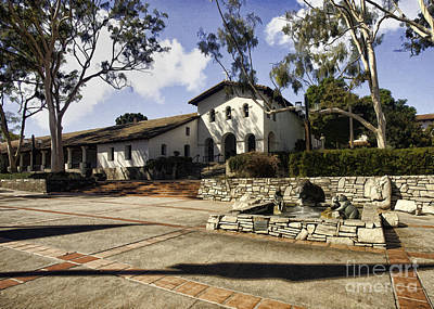 Photograph - Mission San Luis Obispo by Sharon Foster