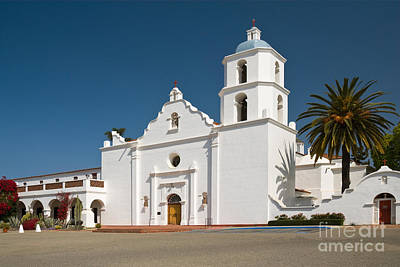Mission San Luis Rey Photograph - Mission San Luis Rey De Francia by Richard and Ellen Thane