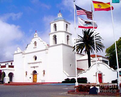 Mission San Luis Rey Art Print by Jerome Stumphauzer