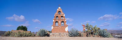 United States Mission Church Photograph - Mission San Miguel, San Miguel by Panoramic Images