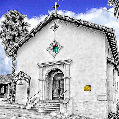 Mission San Rafael Arcangel Art Print by Ken Evans