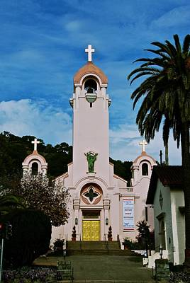Mission San Rafael Art Print