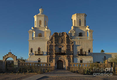 Photograph - Mission San Xavier Del Bac by Sandra Bronstein