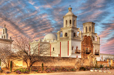 Photograph - Mission San Xavier Del Bac 2 by Bob Christopher