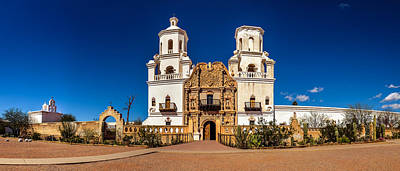 Photograph - Mission San Xavier Del Bac by Chris Bordeleau