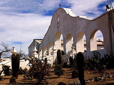 Photograph - Mission San Xevier Del Bac by Joe Kozlowski