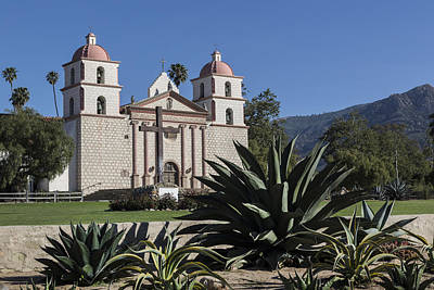 Photograph - Mission Santa Barbara In Santa Barbara by Carol M Highsmith