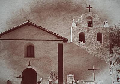 Mission Santa Ines Art Print