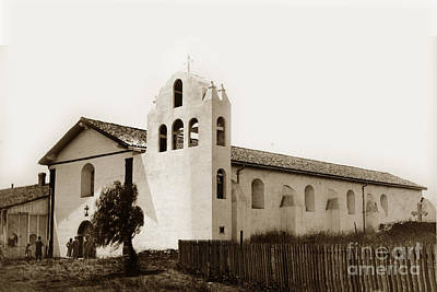 Photograph - Mission Santa Ynez. Santa Barbara County California Established  1804 by California Views Archives Mr Pat Hathaway Archives