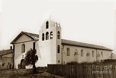 Photograph - Mission Santa Ynez. Santa Barbara County California Established  1804 by California Views Mr Pat Hathaway Archives
