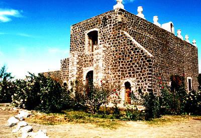 Photograph - Mission Sta. Rosalia - Baja by Robert  Rodvik