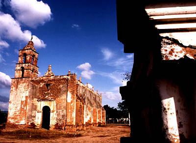 Tabala Photograph - Mission Tabala Buttresses by Robert  Rodvik