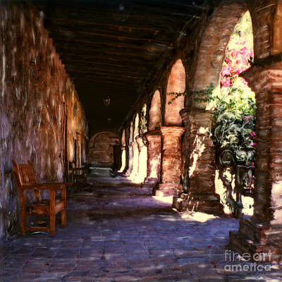 Photograph - Mission Walkway San Juan Capistrano by Glenn McNary