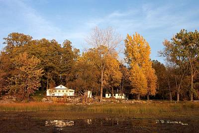 Photograph - Missisquoi Bay Camps by R B Harper