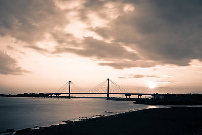 Photograph - Clark Bridge In Timelapse by Scott Rackers