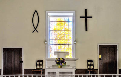 Photograph - Mississippi Church by Maria Coulson