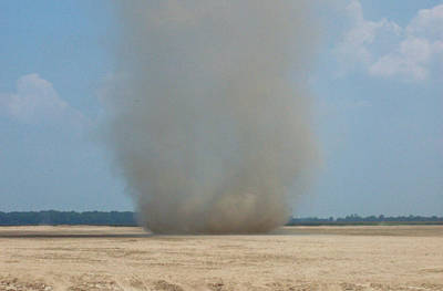 Mississippi Dust Devil Art Print