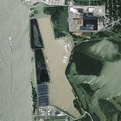 Mississippi Flooding, Usa Art Print