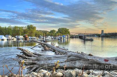Mississippi Harbor 2 Art Print