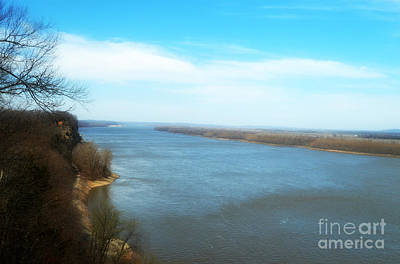 Photograph - Mississippi Overlook Trail  Of Tears by Peggy Franz