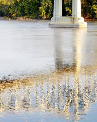 Mississippi Reflection Art Print