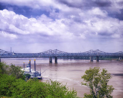 Natchez Photograph - Mississippi River At Natchez by Mountain Dreams