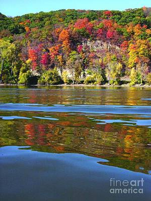 Photograph - Mississippi River Fall by Joan Liffring-Zug Bourret
