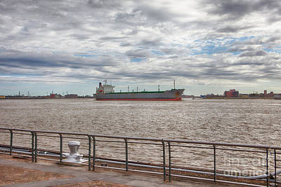 Photograph - Mississippi River In New Orleans by Kay Pickens