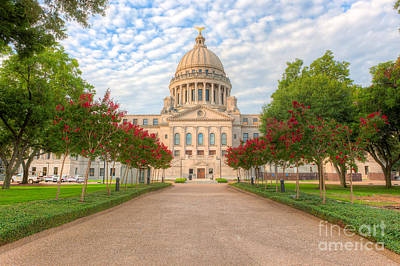 Photograph - Mississippi State Capitol IIi by Clarence Holmes