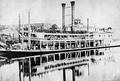 Photograph - Mississippi Steamboat, C1880 by Granger
