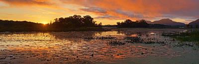 Photograph - Mississippi Sunrise by Leda Robertson