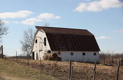 Photograph - Missouri Barn 0885 by Kathy Cornett