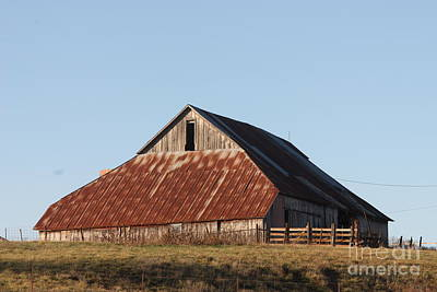 Photograph - Missouri Barn by Kathy Cornett