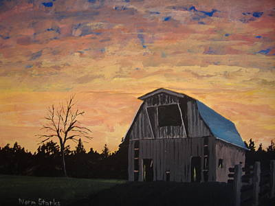 Missouri Barn Art Print