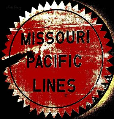 Photograph - Missouri Pacific Lines by Chris Berry