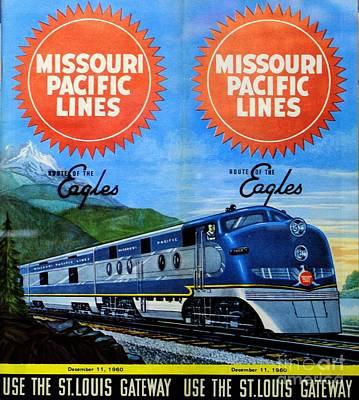 Photograph - Missouri Pacific Lines by Steven Parker