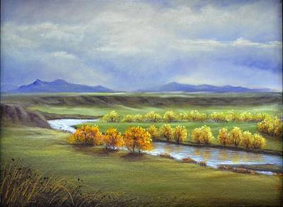 Painting - Missouri River At Fort Benton by Cindy Welsh