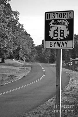 Missouri Route 66 Art Print