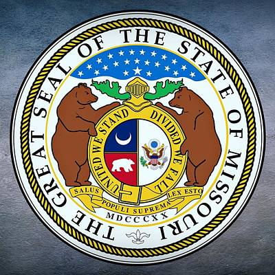 Missouri State Seal Art Print by Movie Poster Prints