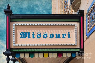 Photograph - Missouri Theater - St Joseph Missouri by Liane Wright