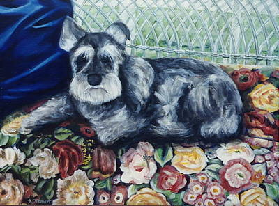 Ontario Portrait Artist Painting - Missy by Sheila Diemert