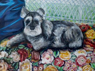 Ontario Portrait Artist Painting - Missy Version 2 by Sheila Diemert